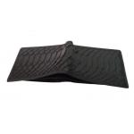 Short Wallet - Snake Skin Black